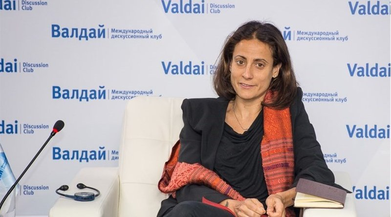Nathalie Tocci. Photo Credit: Tasnim News Agency