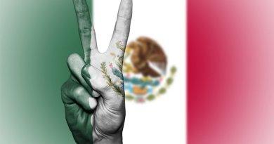 mexico flag peace