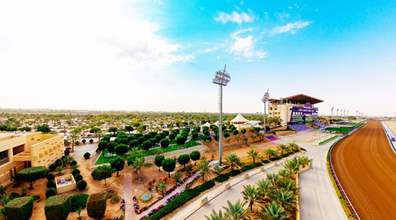 The King Abdullah Racetrack in Riyadh, the venue for the $20 million Saudi Cup, which will be the world's richest horse race. (Supplied photo)