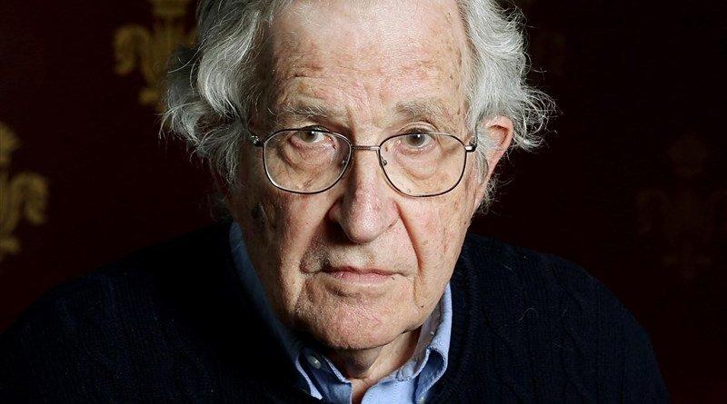 Noam Chomsky. Photo Credit: Tasnim News Agency