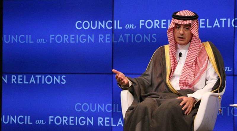 Saudi Arabia's Adel Al-Jubeir. Photo Credit: Saudi Foreign Ministry