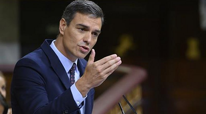 Spain's Pedro Sánchez. Photo Credit: Pool Moncloa/Borja Puig de la Bellacasa