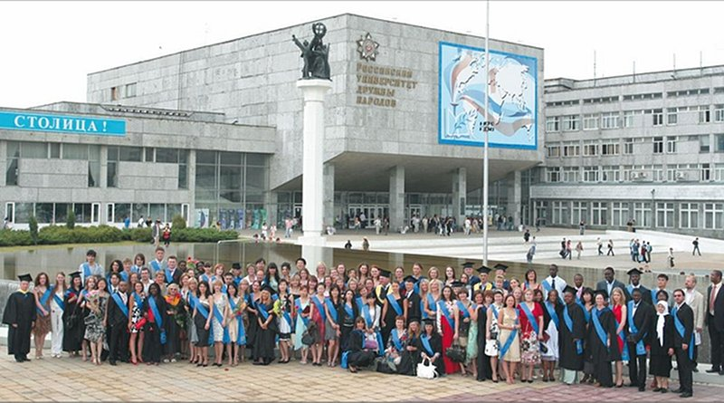 russia africa university students