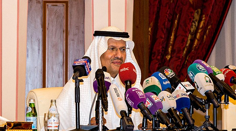 Saudi Arabia's Energy Minister Abdulaziz bin Salman. Photo Credit: SPA