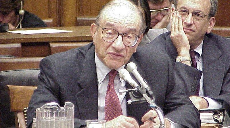 Alan Greenspan. Photo Credit: Wikimedia Commons.