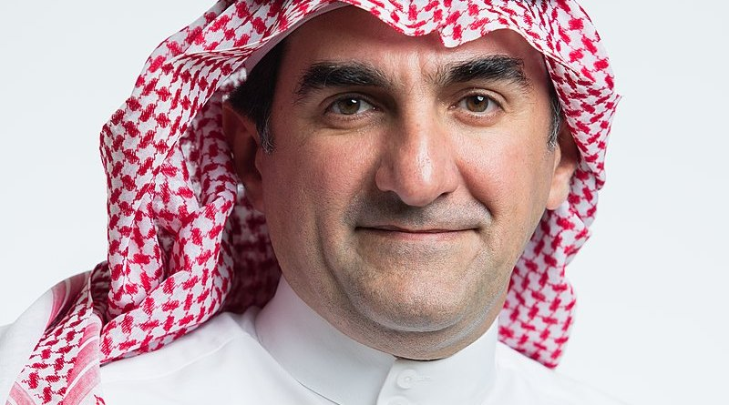 Portrait image of Yasir Al-Rumayyan. Photo Credit: Public Investment Fund of Saudi Arabia, Wikipedia Commons
