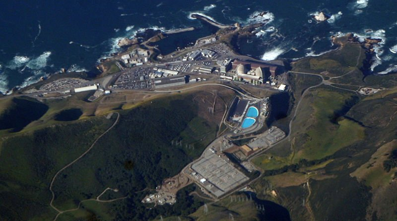 California's Diablo Nuclear Canyon Power Plant. Photo Credit: Doc Searls, Wikipedia Commons.
