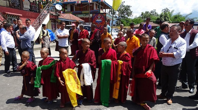 Child monks waiting to welcome Sikkim Chief Minister to inaugurate the Phodong Monastery , a government funded guest. Credit; Kalinga Seneviratne   IDN-INPS.