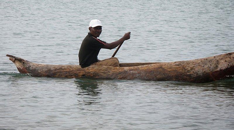 An unidentified fisherman in Africa. Credit: Juma Mtanda.