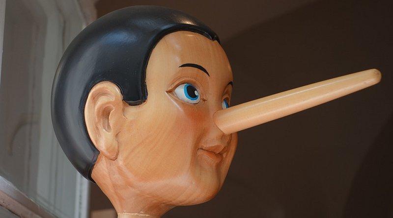 pinocchio lying nose lie