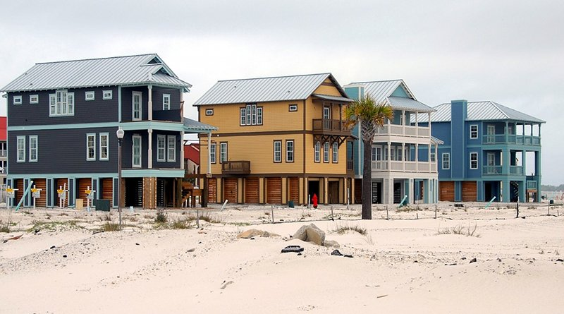 New beach homes in Florida