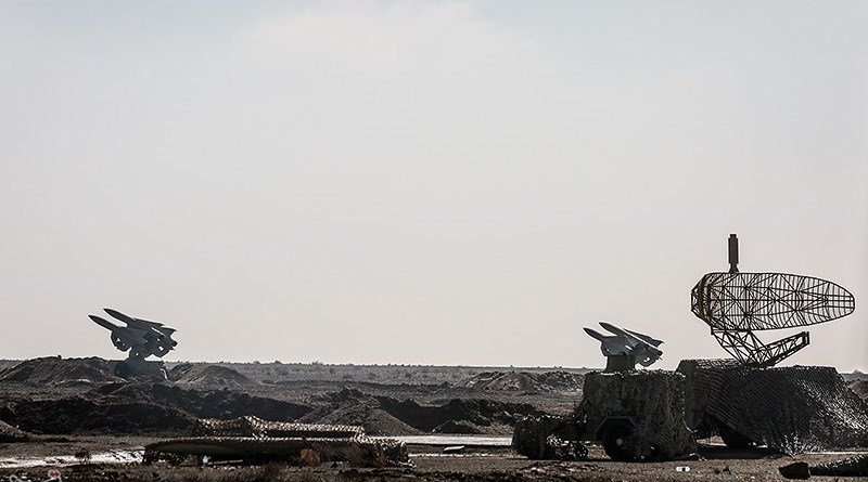 Iranian missile systems and radars. Photo Credit: Tasnim News Agency