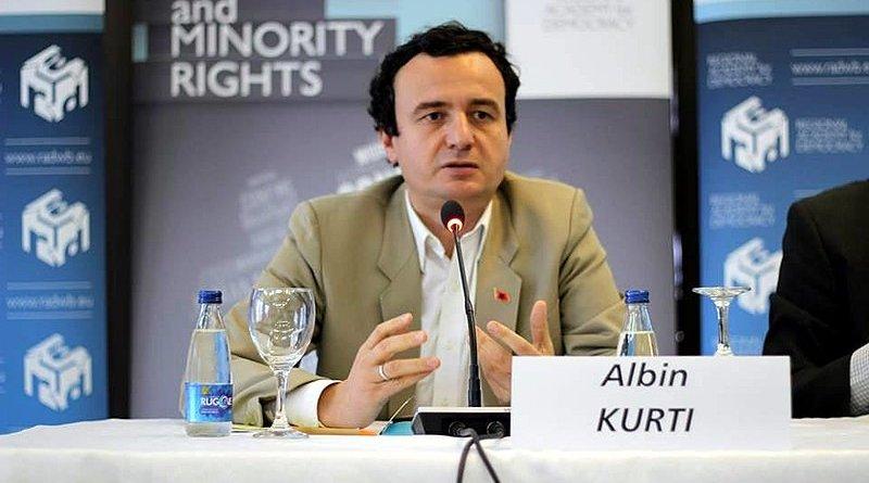 Kosovo's Albin Kurti. Photo Credit: Arianit, Wikipedia Commons