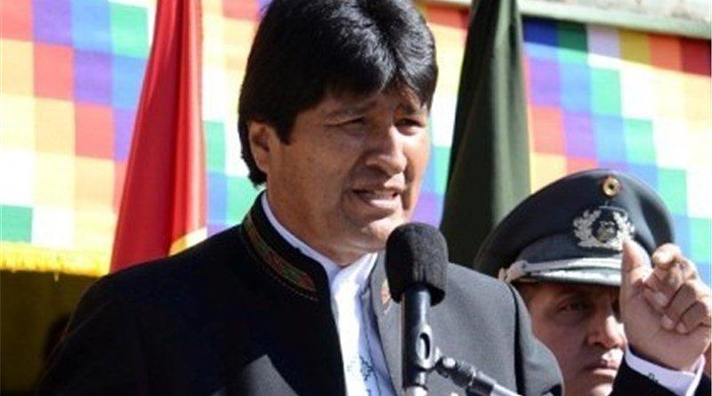 Bolivia's Evo Morales. Photo Credit: Tasnim News Agency