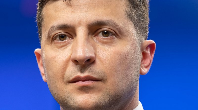 Ukraine's Volodymyr Zelensky. Photo Credit: president.gov.ua. Wikimedia Commons
