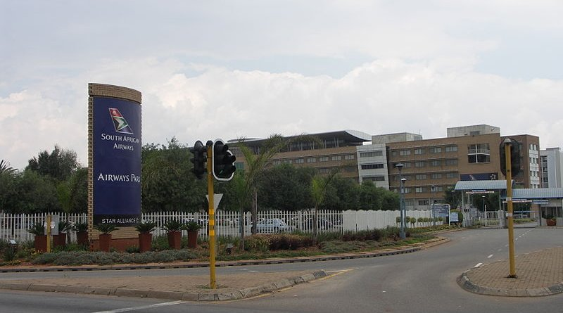 Airways Park, the head office of South African Airways. Photo Credit: NJR ZA, Wikipedia Commons