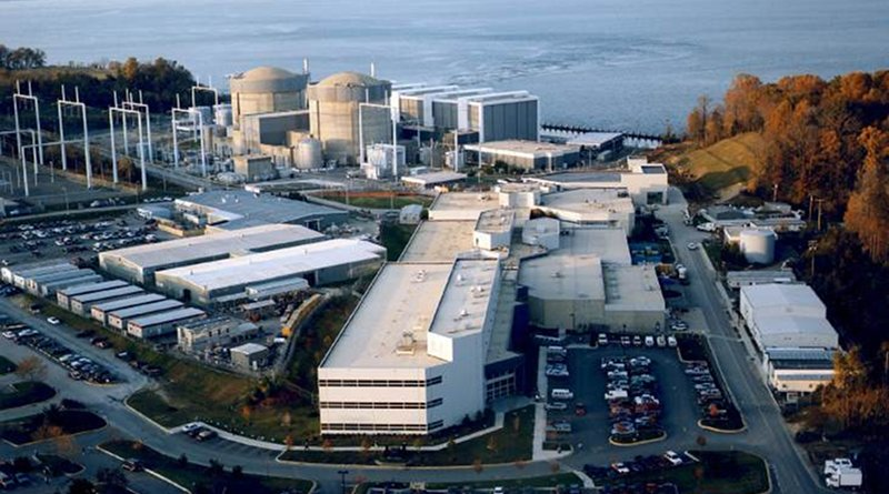 Calvert Cliffs units 1 and 2, two of five reactors owned by CENG (Image: US Nuclear Regulatory Commission)