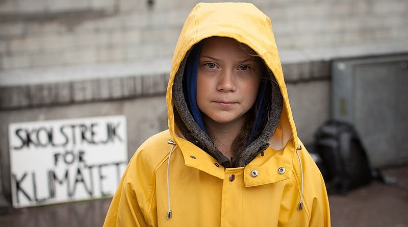 Greta Thunberg. Photo Credit: Anders Hellberg, Wikimedia Commons