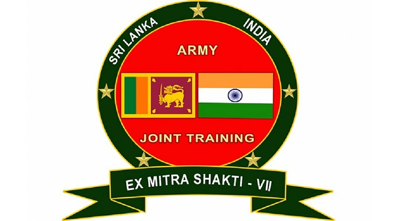 Exercise Mitra Shakthi - VII', the joint military exercise between the Indian Army and the Sri Lanka Army