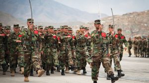 A decade of training and advising by the United States seemed to have come to naught, as many Afghan security forces abandoned their posts as the Taliban closed in on Kunduz in 2015. (U.S. Air Force/Dustin Payne)