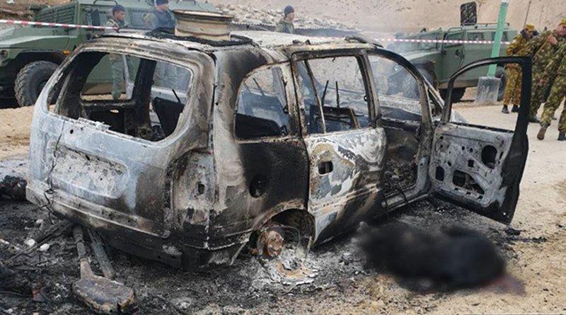 Attack on a Tajik border post. Photo Credit: Tajik Interior Ministry