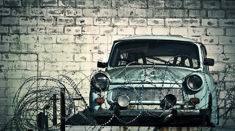 An old Trabant car