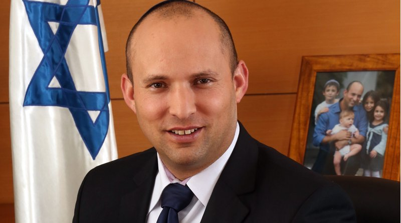 Israel's Naftali Bennett. Photo Credit: The Spokesperson of The Ministry of Economy, Wikipedia Commons.