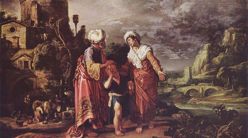 The dismissal of Hagar, by Pieter Pietersz Lastman.