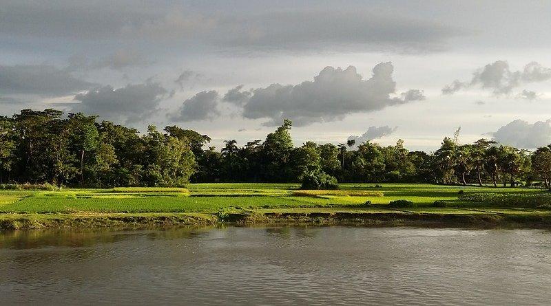 Feni river in Bangladesh