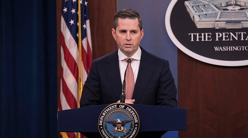File photo of Jonathan Rath Hoffman, assistant to the secretary of defense for public affairs. Photo Credit: Navy Petty Officer 2nd Class James K. Lee