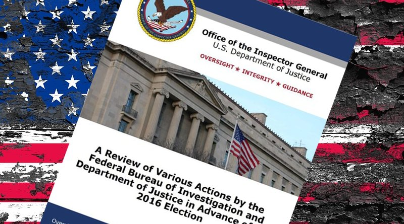 ig report united states flag impeach Inspector General united states
