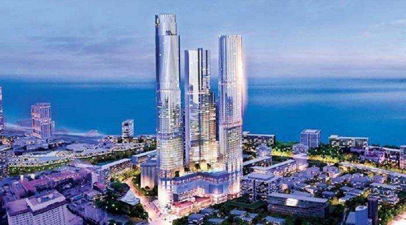 Sri Lanka's planned The One Transworks Square. Credit: Sri Lanka government