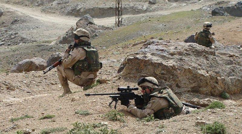 Bulgarian Operators of 68th Brigade SF in Afghanistan. Photo Credit: Commando busof, Wikipedia Commons