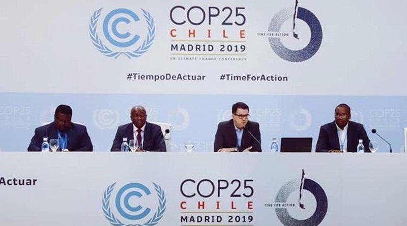 African Group of Negotiators at COP 25. Credit: UNFCC Facebook.