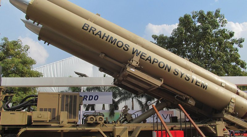 Indian army's BrahMos Mobile Autonomous Launchers, February 7, 2014 (Courtesy Anirvan Shukla)