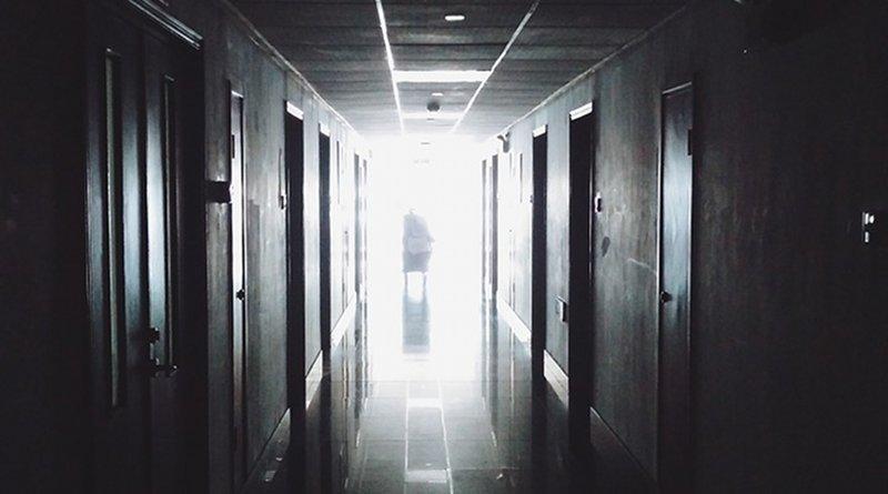 emergency hospital hallway