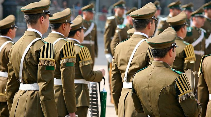 Military parade in Santiago, Chile. Photo Credit: Alex Proimos, Wikimedia Commons