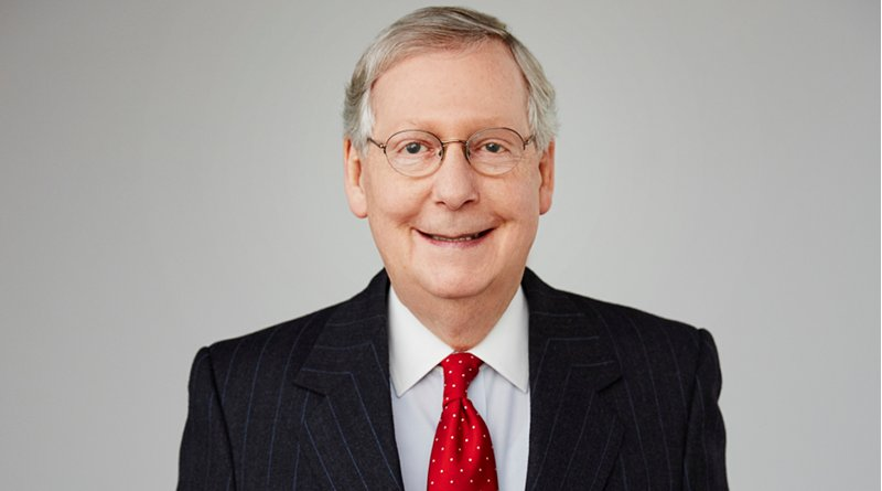 Mitch McConnell. Photo Credit: U.S. Government, Wikipedia Commons