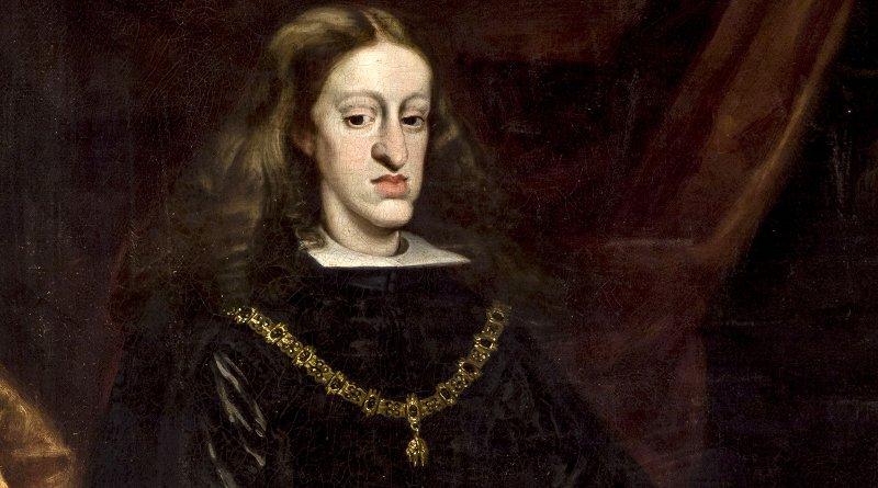 King Charles II of Spain. Painting by Juan Carreño de Miranda (1614–1685), Wikimedia Commons