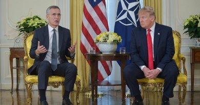 NATO Secretary General Jens Stoltenberg with US President Donald Trump. Photo Credit: NATO