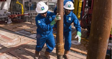 Saudi Aramco workers. Photo Credit: Saudi Aramco