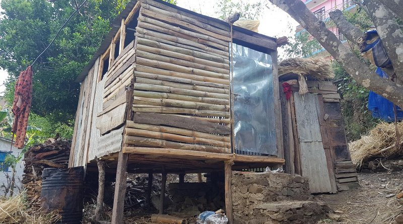 This is a menstruation hut in Nepal, taken by researchers on site. CREDIT What's missing in MHM? Moving beyond hygiene in Menstrual Hygiene Management
