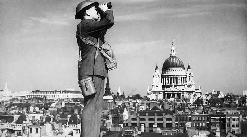 Battle of Britain air observer. Photo Credit: National Archives and Records Administration, Wikimedia Commons