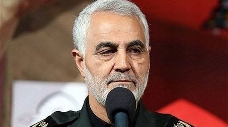 Commander of the Islamic Revolution Guards Corps (IRGC) Quds Force Major General Qassem Soleimani. Photo Credit: Tasnim News Agency