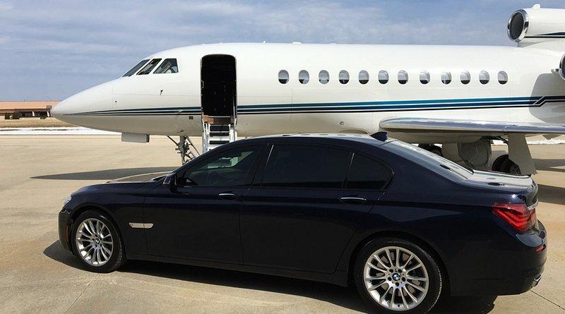 corporate private jet