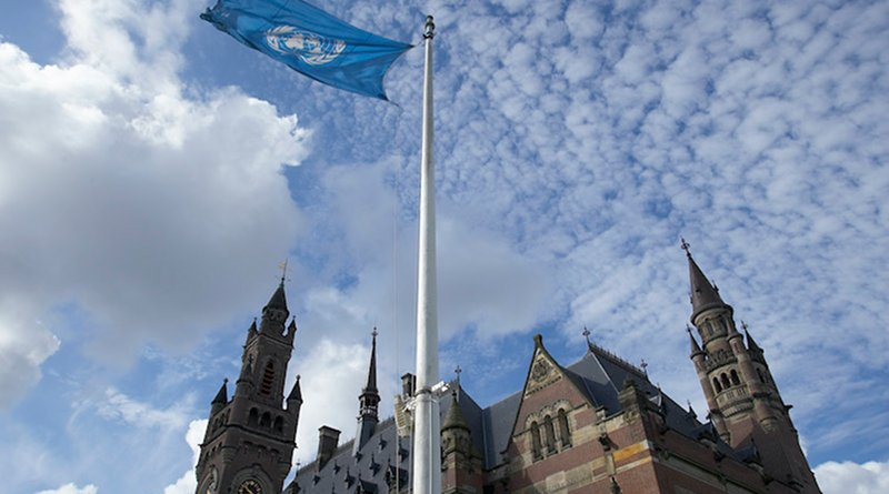 The Peace Palace in The Hague (Netherlands), seat of the International Court of Justice. Credit: Jeroen Bouman - Courtesy of the ICJ.