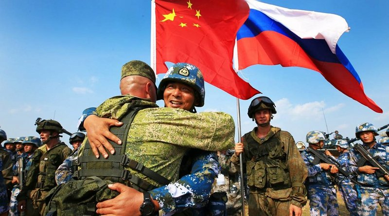 Joint Russian Chinese military drill (Source: 112.ua)