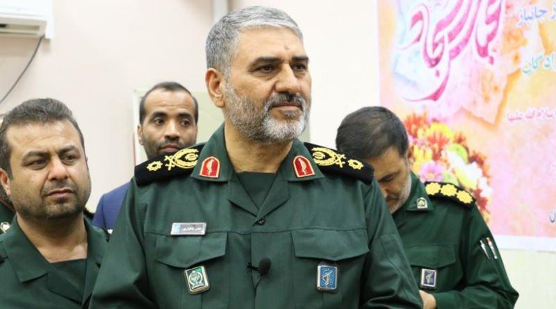 Commander of IRGC's Provincial Force in Khuzestan Province, Hassan Shahvarpour. Photo Credit: Fars News Agency