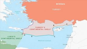 Avoiding containment: Turkey and Libya sign an agreement on maritime boundaries, responding to plans by Cyprus, Egypt, Israel and Greece to develop natural gas in the Eastern Mediterranean (Source: Anadolu Agency)