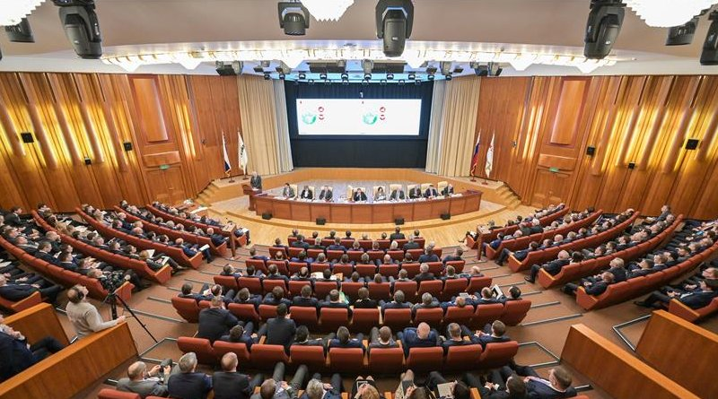 LUKOIL Board of Directors hold a meeting in Moscow. Photo Credit: LUKOIL